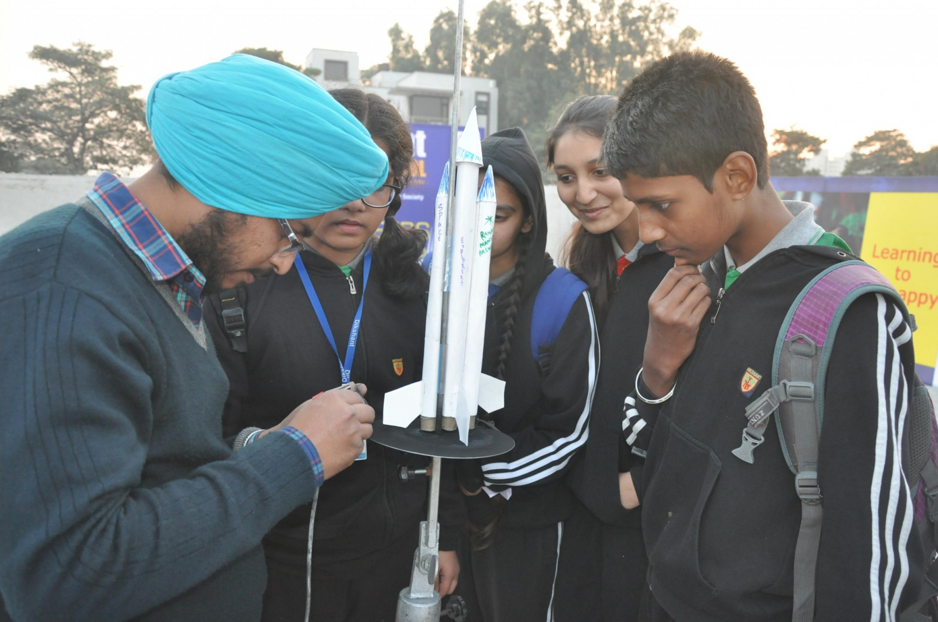 The Model Rocketry festival at Dikshant Global School, VIP Road, Zirakpur, was held on 18th – 19th December, 2015 with as many as 100 students from 10 top schools of tricity; designing, building, testing their Rockets for stability & finally flying their own Rocket models. The International Space Society (ISS) […]
