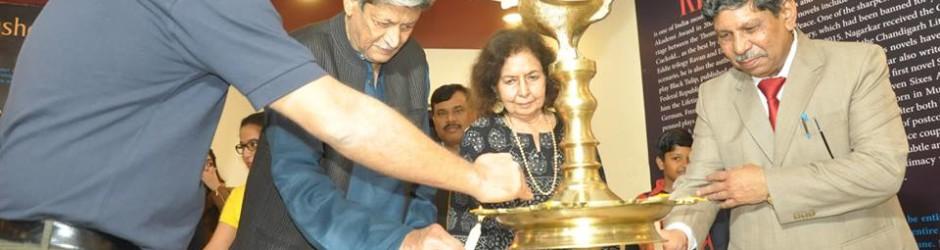 The Kiran Nagarkar Library was inaugurated at DGS campus