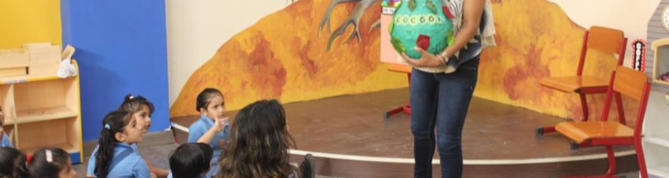 Parents participation in 'Share a story program'
