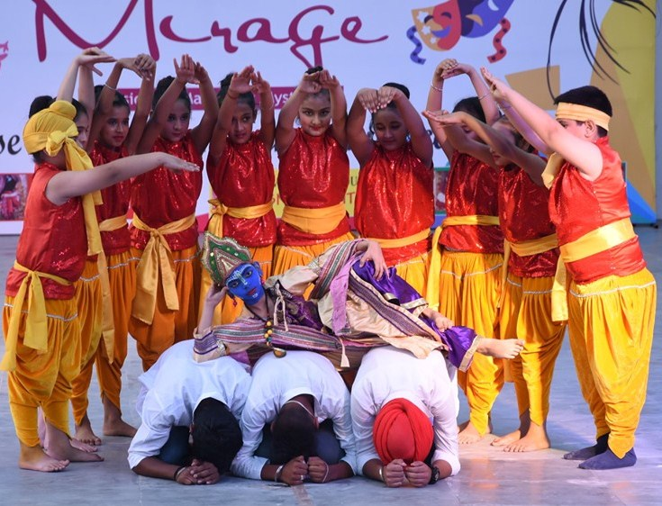 Annual Cultural Fest,Mirage 2019 | Dikshant International