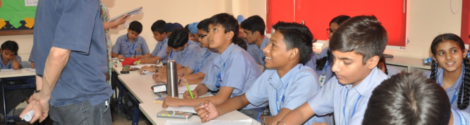 Ranjit Lal conducted creative writing workshop