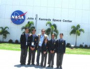 Students-on-a-visit-to-NASA 2011
