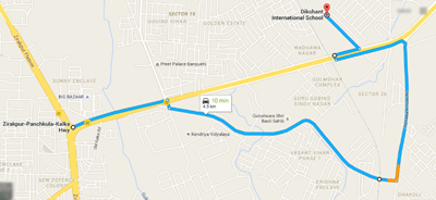 Dikshant Road Map